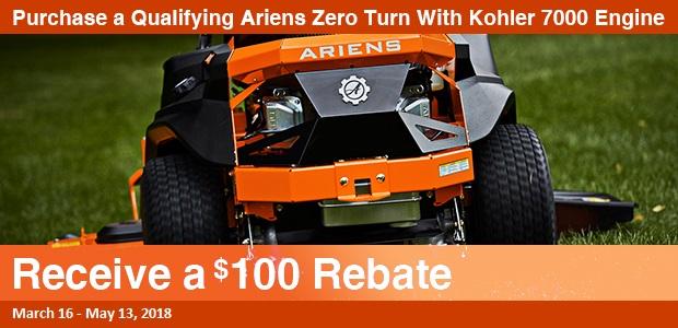 Ariens Kohler Engine Rebates