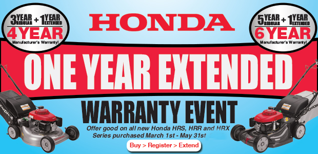 Honda Mowers Extended Warranty