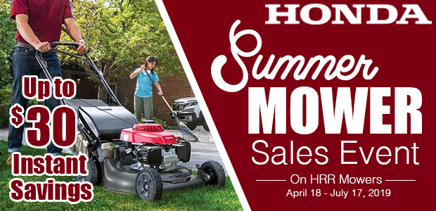 Honda Mower Sale
