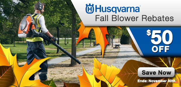 Fall Blower Rebates