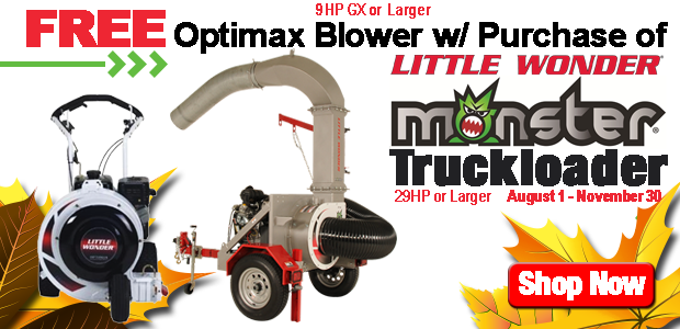 Little Wonder Free Blower w/ Truckloader Purchase