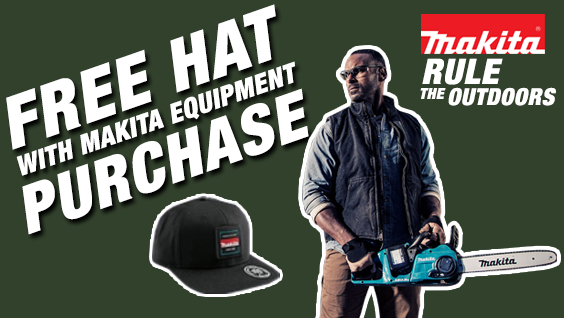 Makita Free Hat w/ Purchase