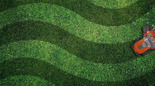 Wave Lawn Pattern