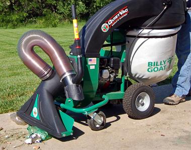 Billy Goat QV550H 160cc Honda Industrial Push Leaf Litter Vacuum Quiet Vac