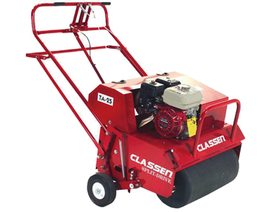 Image result for clausen walk behind aerator