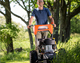 Pro 26 Brush Mower Electric In use 3