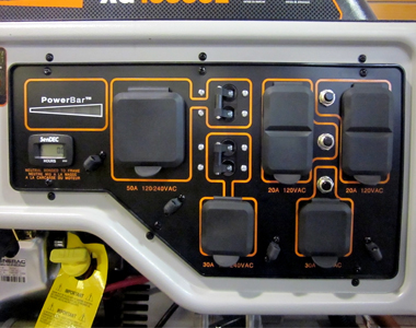 Generac 10000 Watt Generator >> Generac Xg10000e 10 000 Watt Portable Generator Electric Start