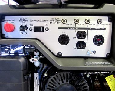 Honda EG5000 Portable Generator