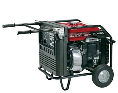 Honda EM5000iS 5000 Watt Portable Inverter Generator ... on