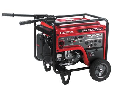 Honda EM5000S MowersAtJacks.Com