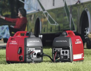 ... Honda EU2000i Companion Inverter Generator ...