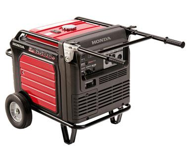 honda eu6500is 6500 watt portable inverter generator electric start rh mowersatjacks com