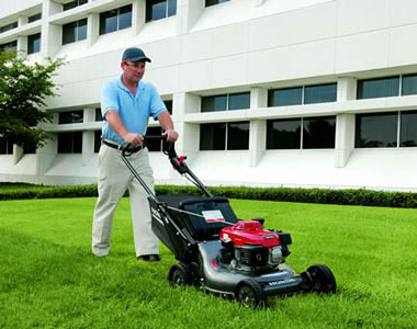 Honda HRC216HXA 21 inch 160cc Self-Propelled Commercial Lawn Mower, Blade Override