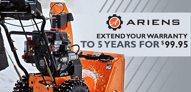 Ariens Extended Warranty