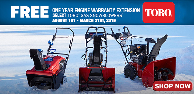 Toro 1 Year Engine Extended Warranty