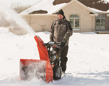 Ariens Deluxe 28 Sho In Use 2