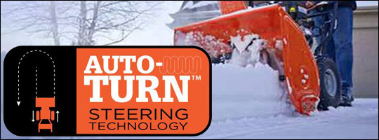 Ariens Auto-Turn - So Easy Your Grandma Could Do It!