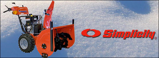 Simplicity Snow Blower Feature Guide