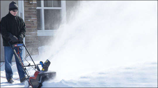 Single Stage Electric Snow Blowers