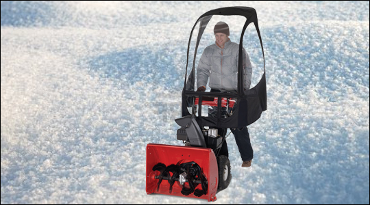 Snow Blower Cab