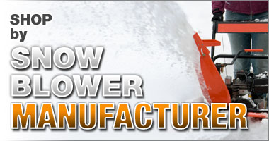 Shop by Snow Blower Manufacturer