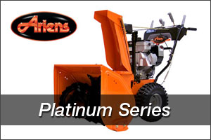 Ariens Platinum Series Snow Blowers