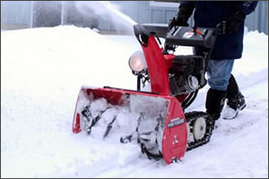 Honda track drive snow blowers can conquer any surface