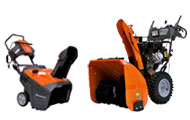 Husqvarna Consumer Snow Blowers