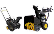 McCulloch Consumer Snow Blowers