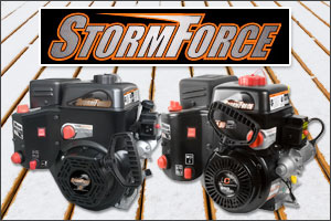 McCulloch snow blowers feature LCT Storm Force Engines