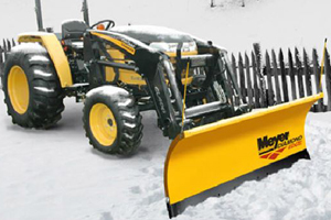 Tractor Snow Plows