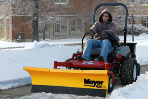 Zero Turn Mower Snow Plows