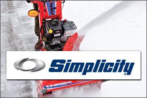 simplicity Snow Blowers