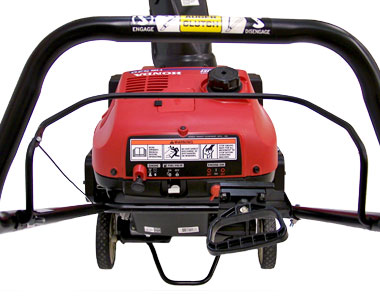 ... Honda HS520A Snow Blower Controls