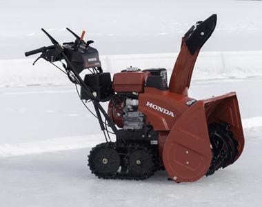Honda Hss1332atd 389cc 32 Inch Track Drive Two Se Snow Er
