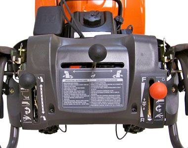 Husqvarna 12527HV Snow Blower Controls