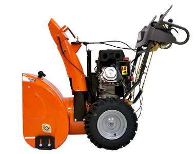 Husqvarna 12527HV Snow Blower Right Side