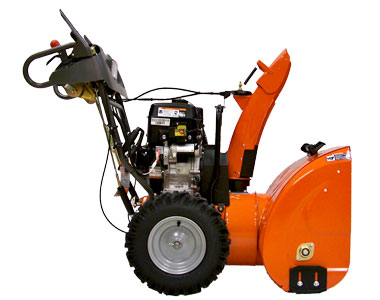 Husqvarna 12527HV Snow Blower Left Side