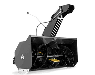 Husqvarna 40 inch Single Stage Rider Mount SnowBlowersAtJacks.Com