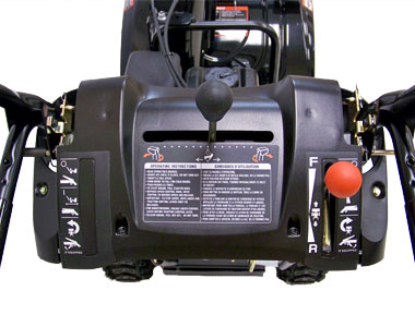 McCulloch MC624ES Snow Blower Controls