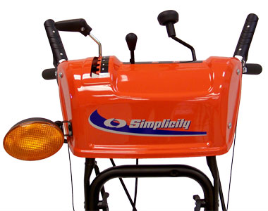 Simplicity I1224E Snow Blower Controls