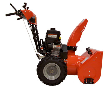 Simplicity I1224E Snow Blower Left side