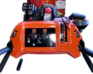 Simplicity I924E Snow Blower Controls