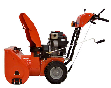Simplicity I924E Snow Blower Right Side