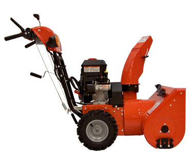 Simplicity I924E Snow Blower Left Side
