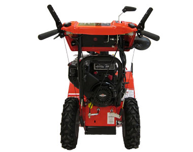 simplicity L1528E Snow Blower Back