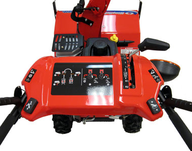 Simplicity L1528E Snow Blower Controls