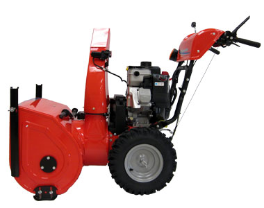 Simplicity L1528E Snow Blower Right Side