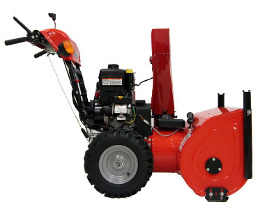 Simplicity L1528E Snow Blower Left Side