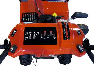 Simplicity L1730E Snow Blower Controls